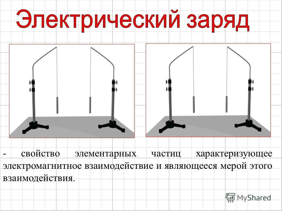 - свойство элементарных частиц характеризующее электромагнитное взаимодействие и являющееся мерой этого взаимодействия.