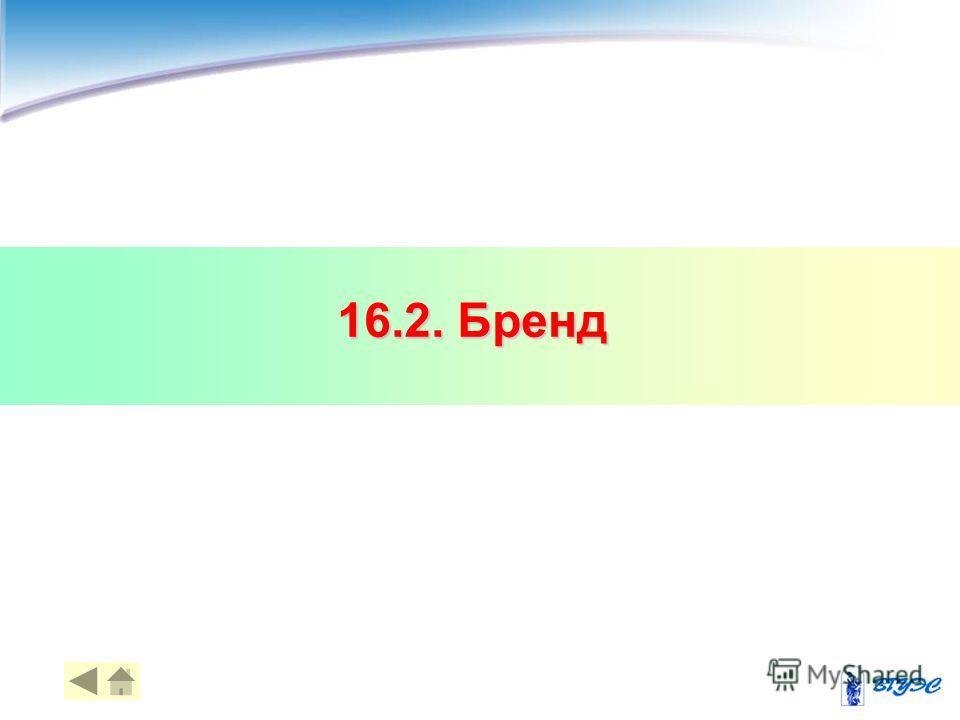 16.2. Бренд