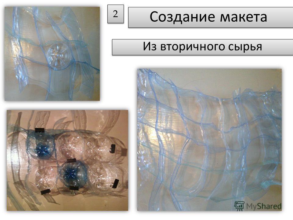 Создание макета 2 2 Из вторичного сырья