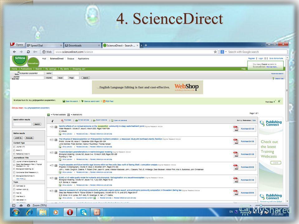 4. ScienceDirect