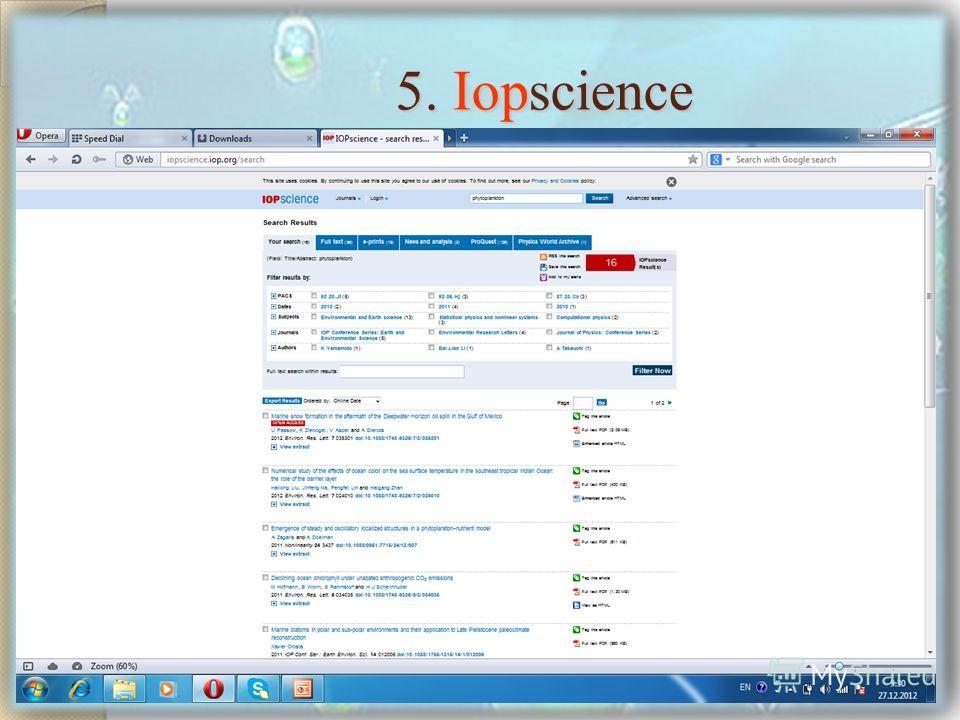 5. Iopscience