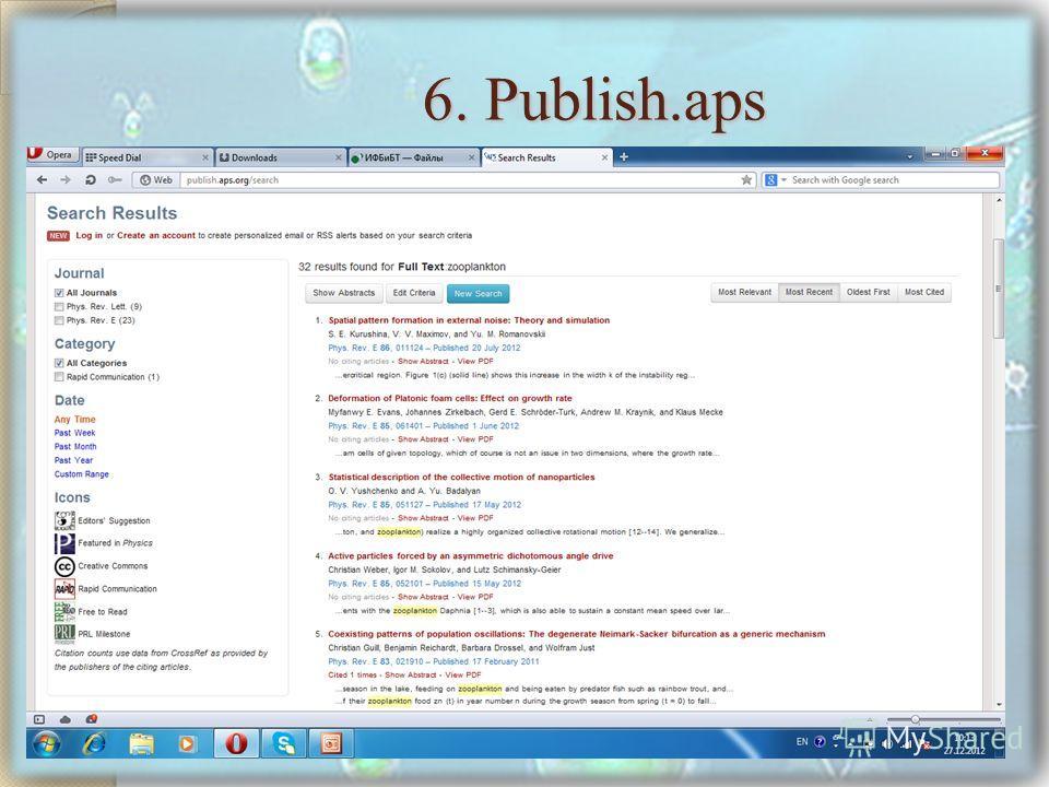 6. Publish.aps