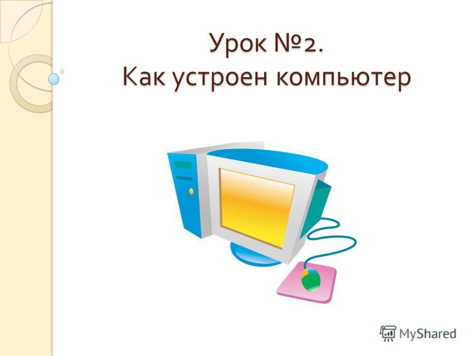 Урок 2. Как устроен компьютер
