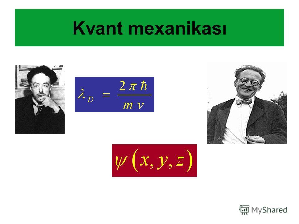 Kvant mexanikası