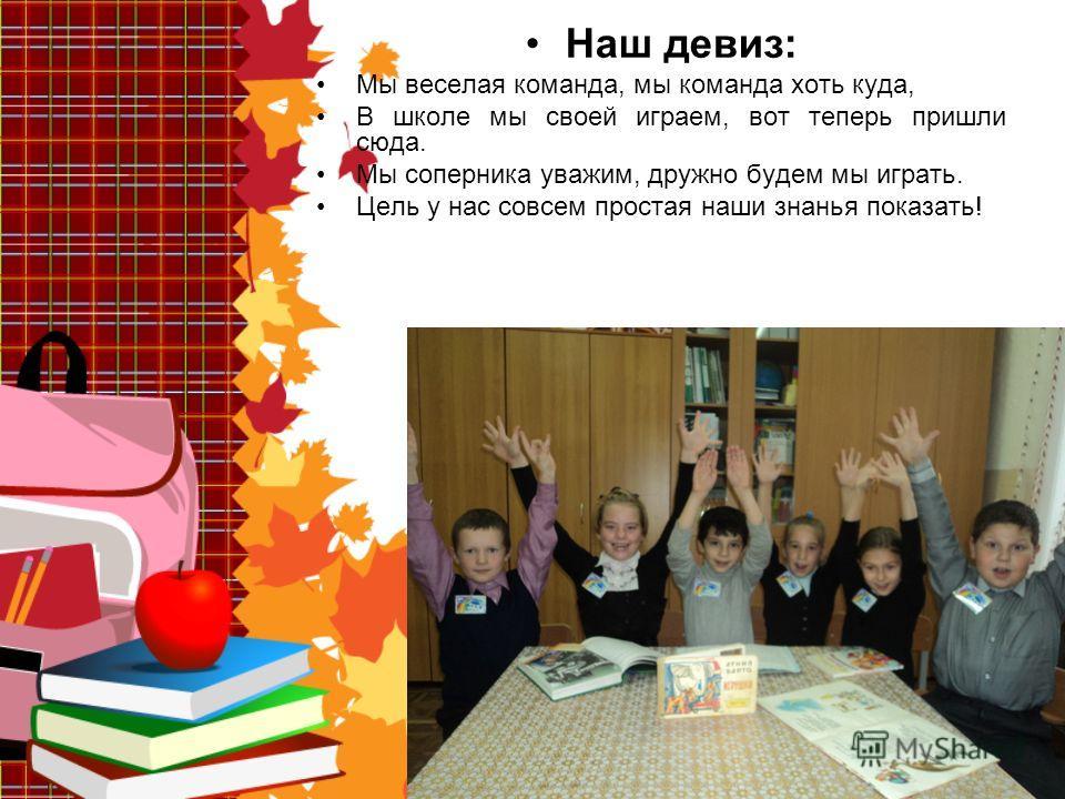 Муниципальное бюджетное общеобразовательное учреждение начальная общеобразовательная школа 23 г. Бикина 3 «Г» класс Команда « КАПИТОШКА »