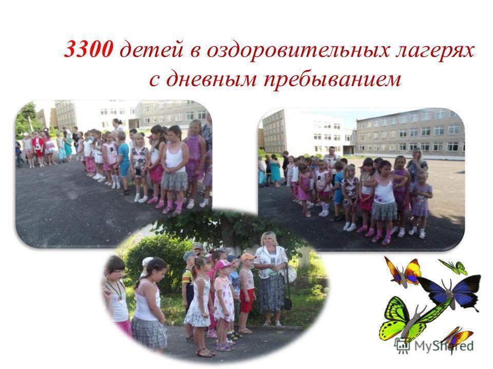 3300 детей в оздоровительных лагерях с дневным пребыванием