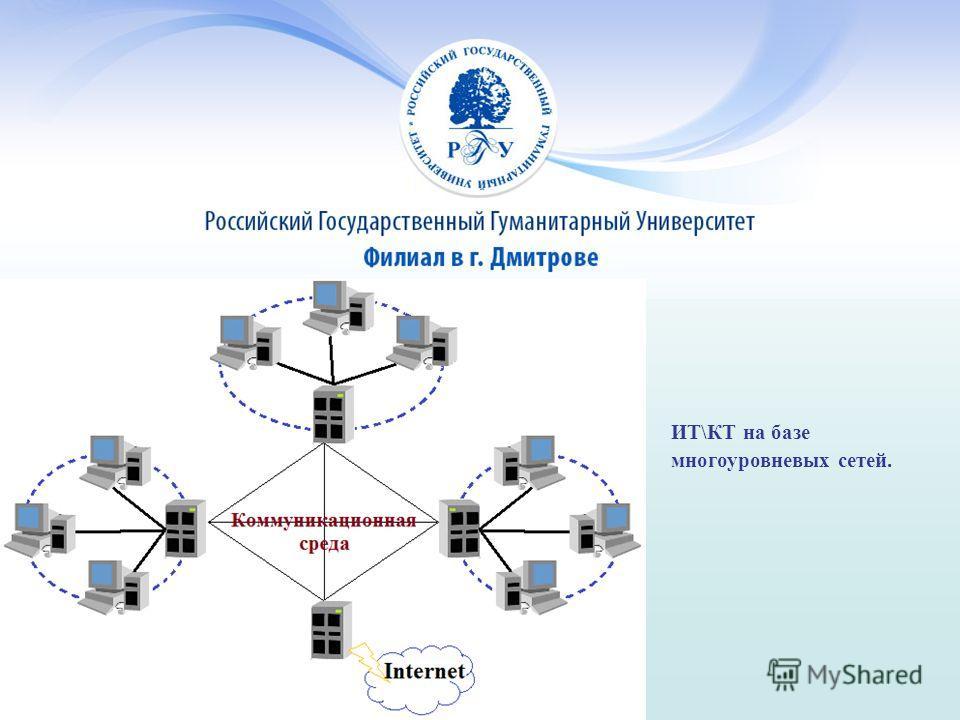 ИТ\КТ на базе многоуровневых сетей.