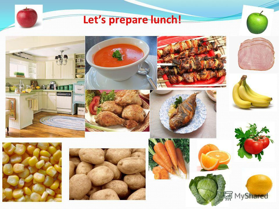 12 Lets prepare lunch!