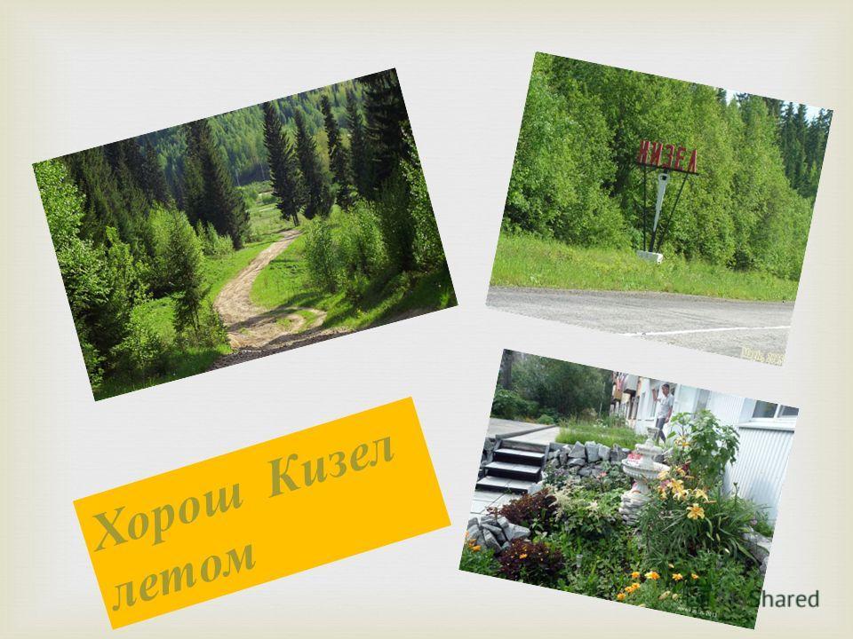 Хорош Кизел летом