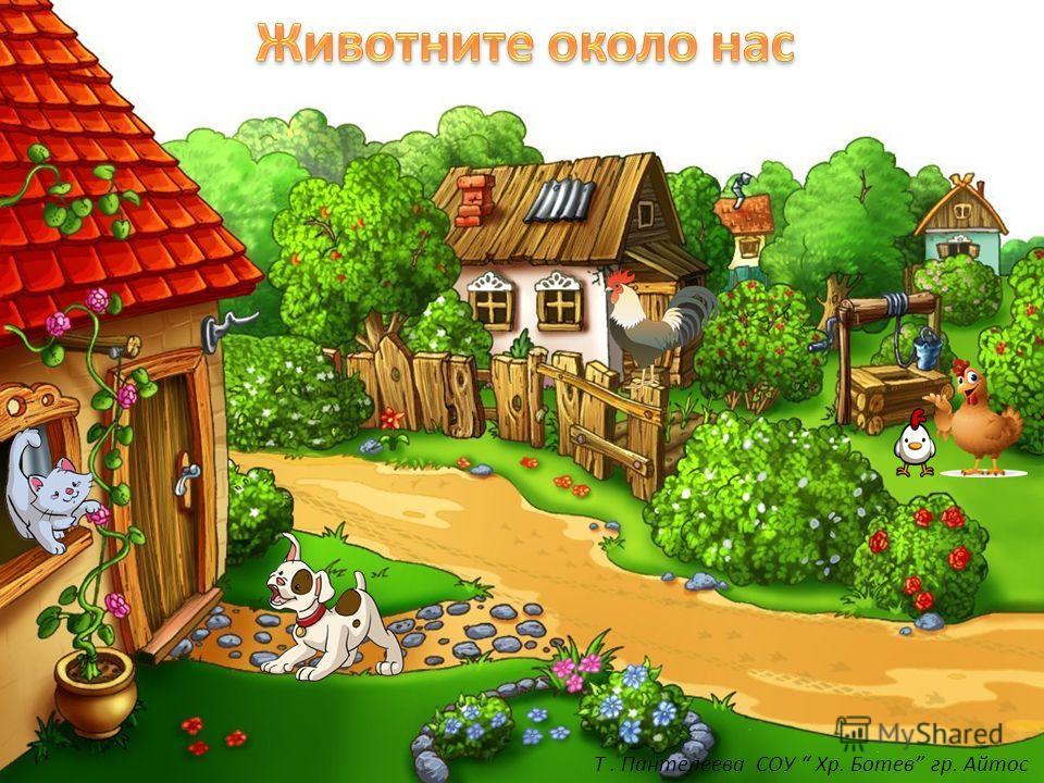 Т. Пантелеева СОУ Хр. Ботев гр. Айтос