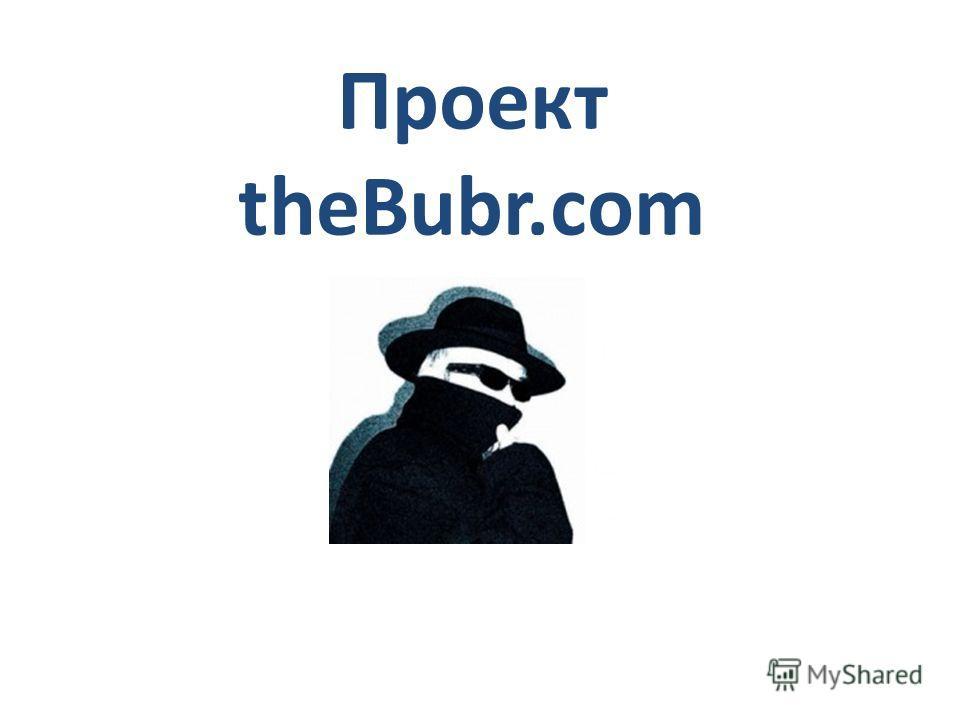 Проект theBubr.com