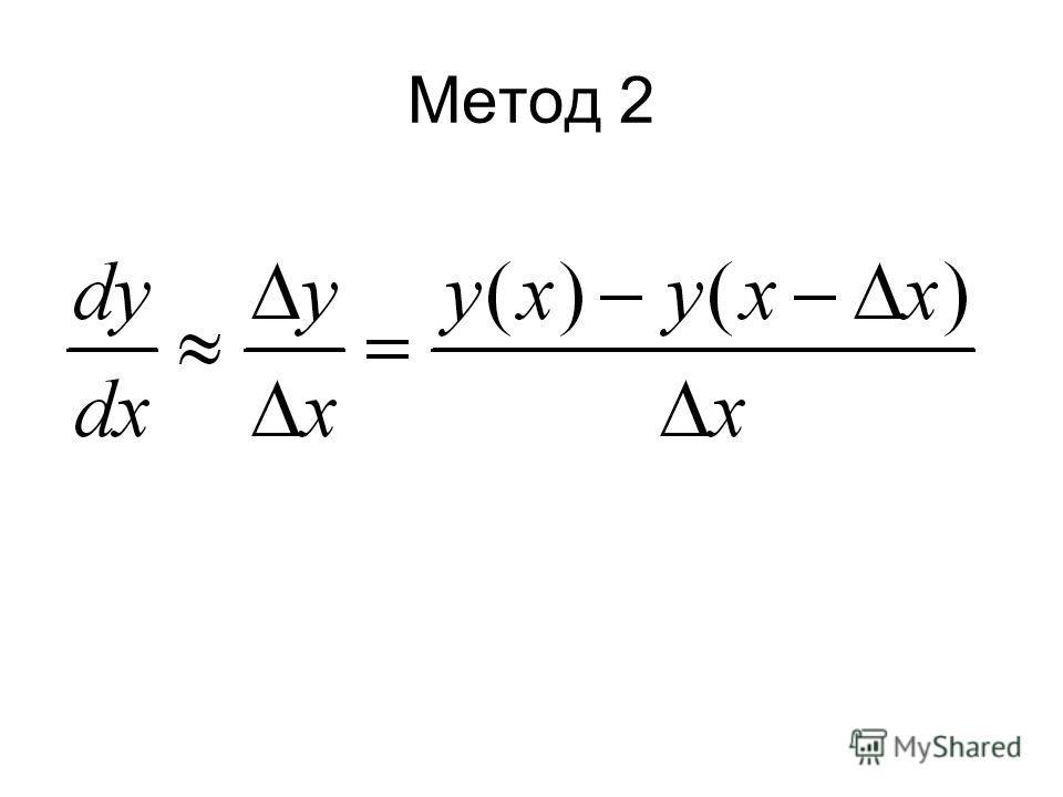 Метод 2