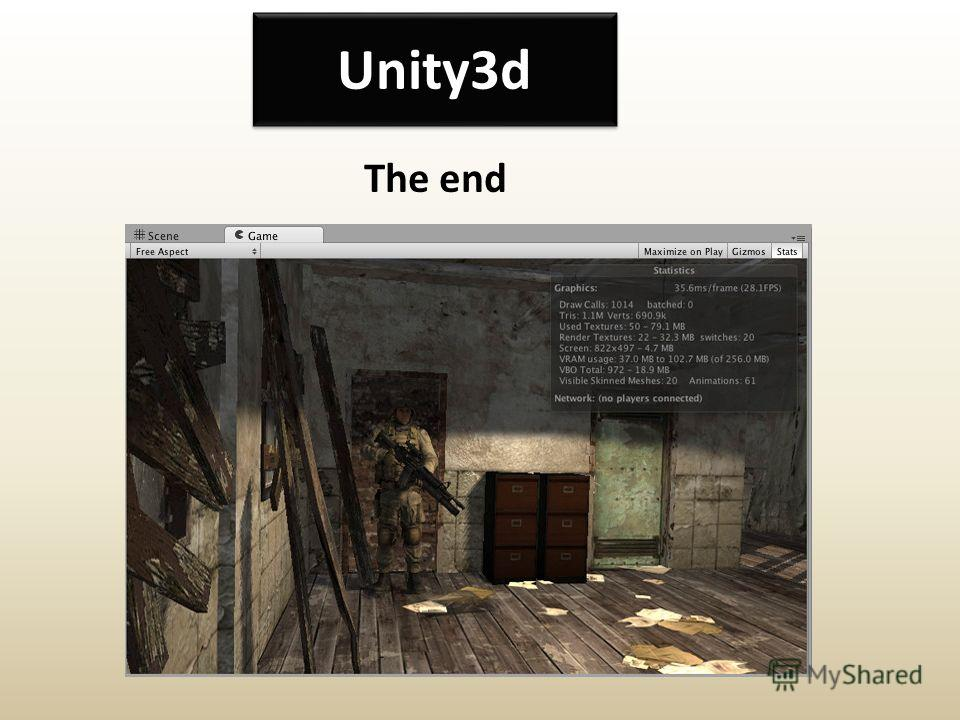 Unity3d The end