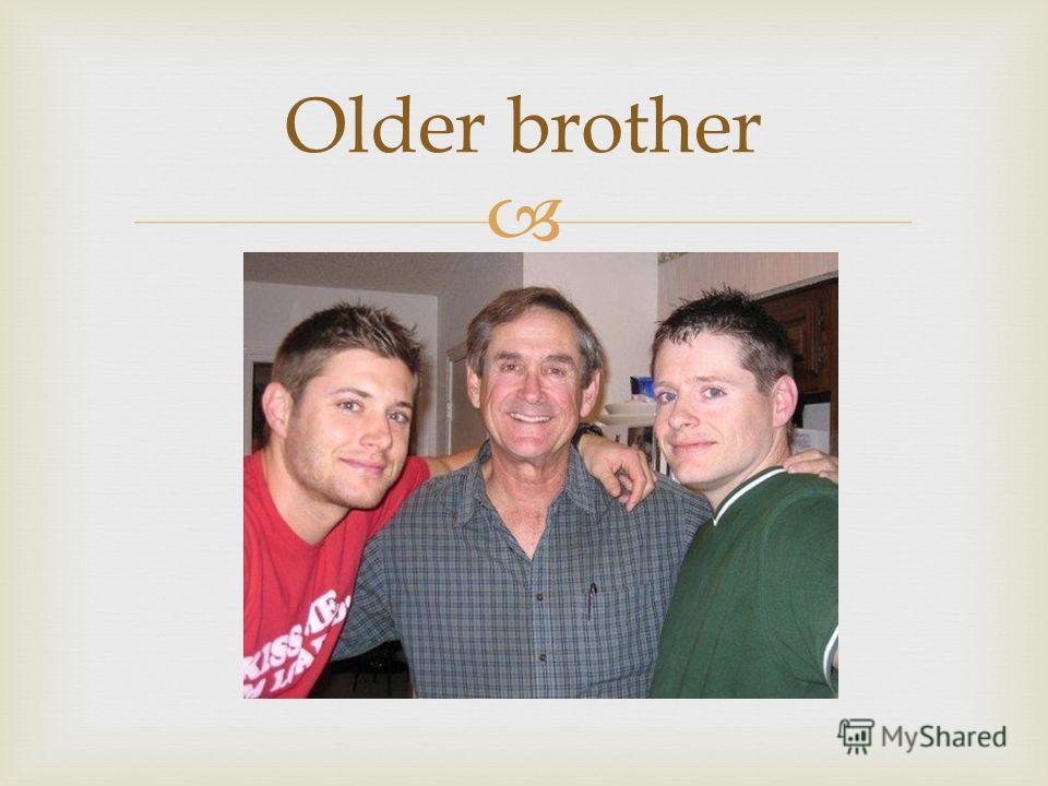 Older brother