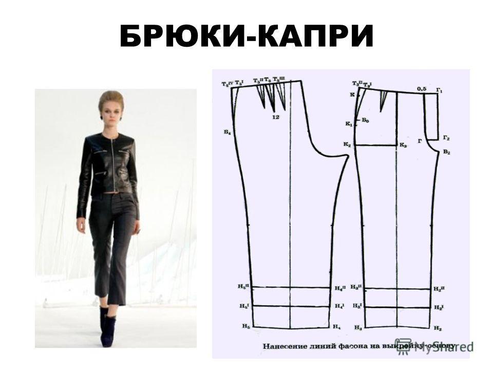 БРЮКИ-КАПРИ