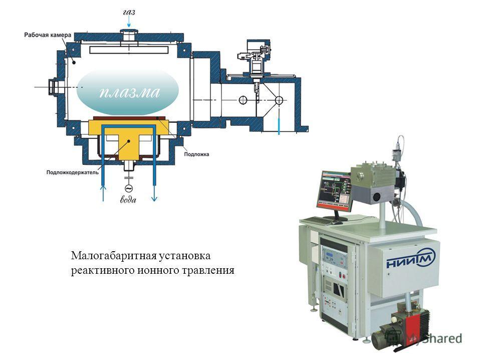 15 Малогабаритная установка реактивного ионного травления