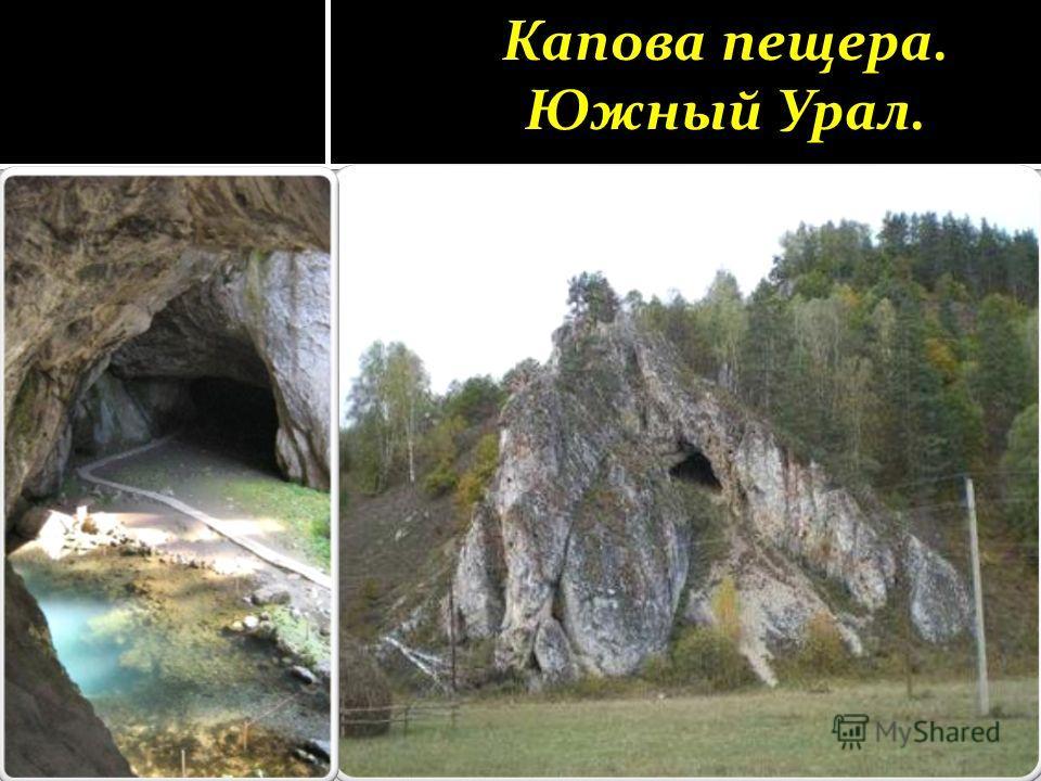 Капова пещера. Южный Урал.