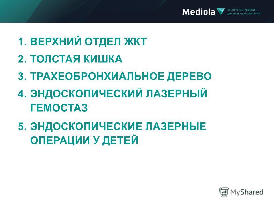 ТРАХЕОБРОНХИАЛЬНОЕ ДЕРЕВО 4.