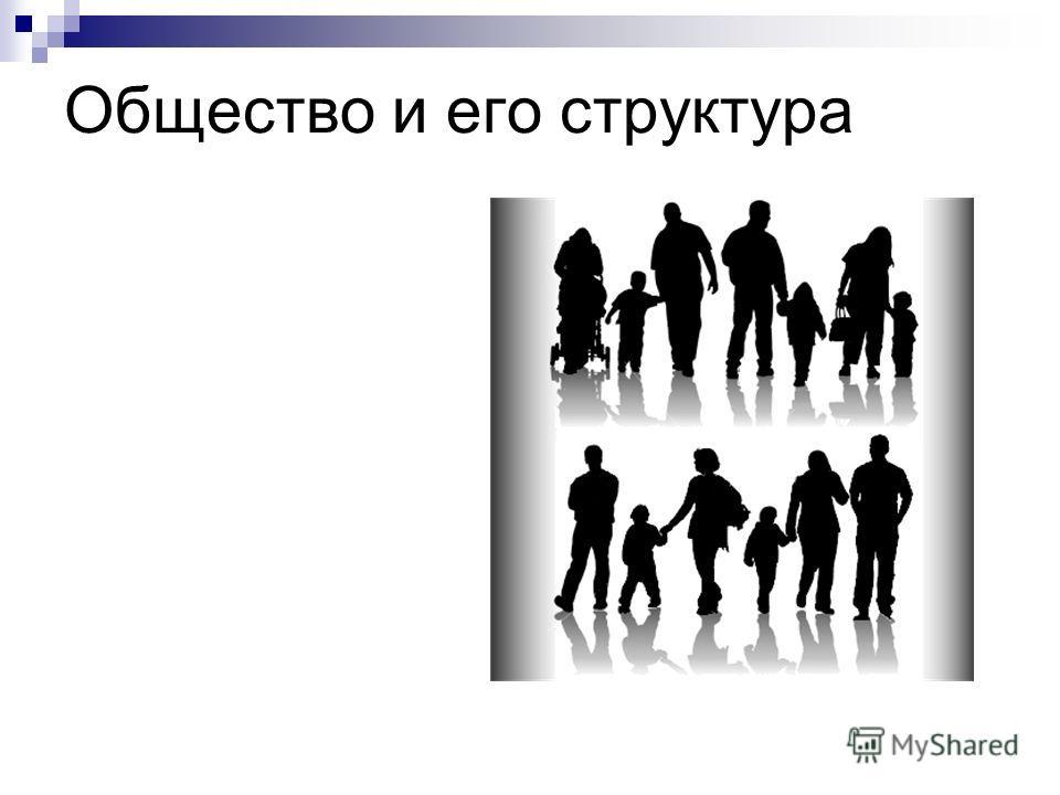 Общество и его структура