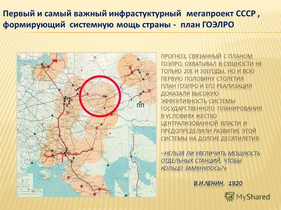 пп Первый и самый важный инфраструктурный мегапроект СССР, формирующий системную мощь страны - план ГОЭЛРО