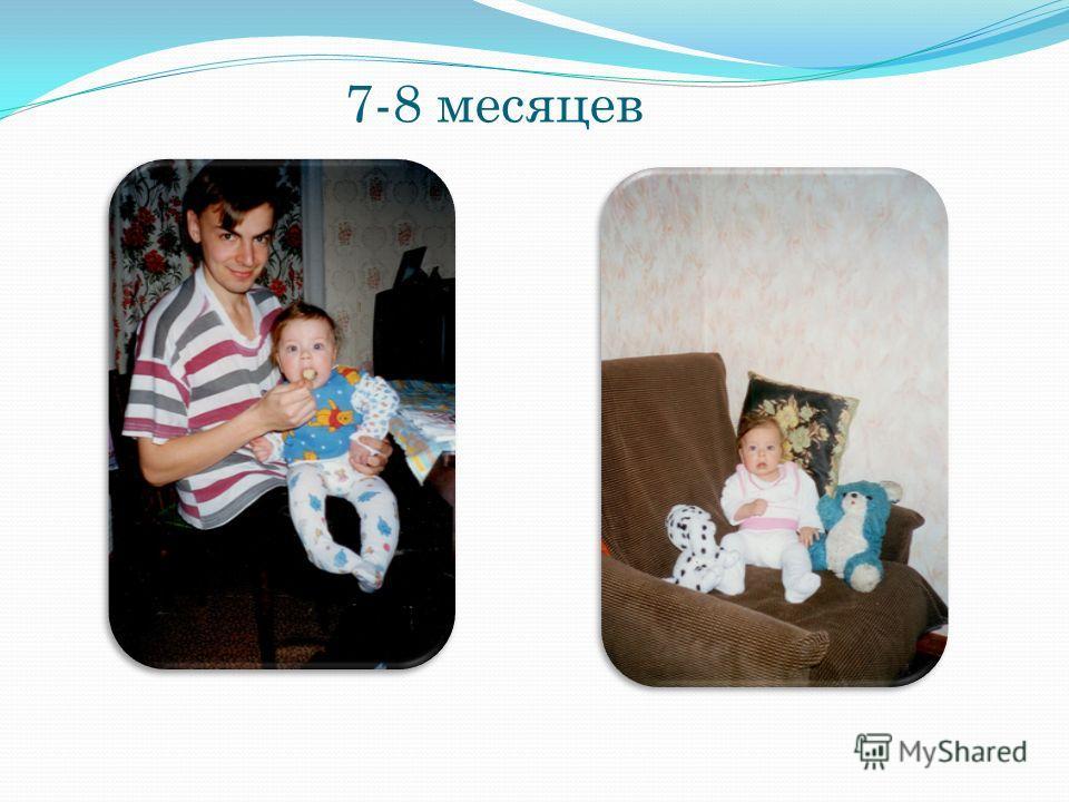 7-8 месяцев