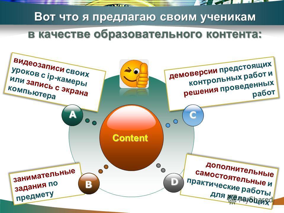 www.themegallery.com Вот что я предлагаю своим ученикам в качестве образовательного контента: Content видеозаписи своих уроков с ip-камеры или запись с экрана компьютера видеозаписи своих уроков с ip-камеры или запись с экрана компьютера демоверсии п