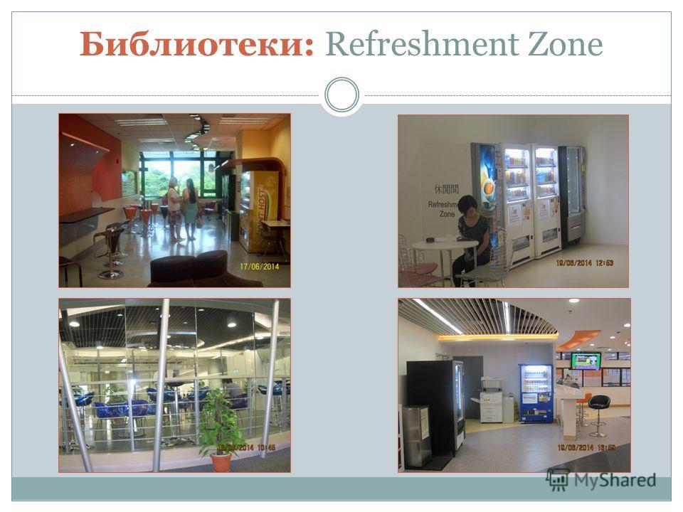 Библиотеки: Refreshment Zone