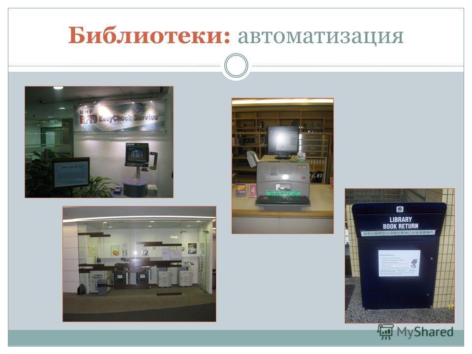 Библиотеки: автоматизация