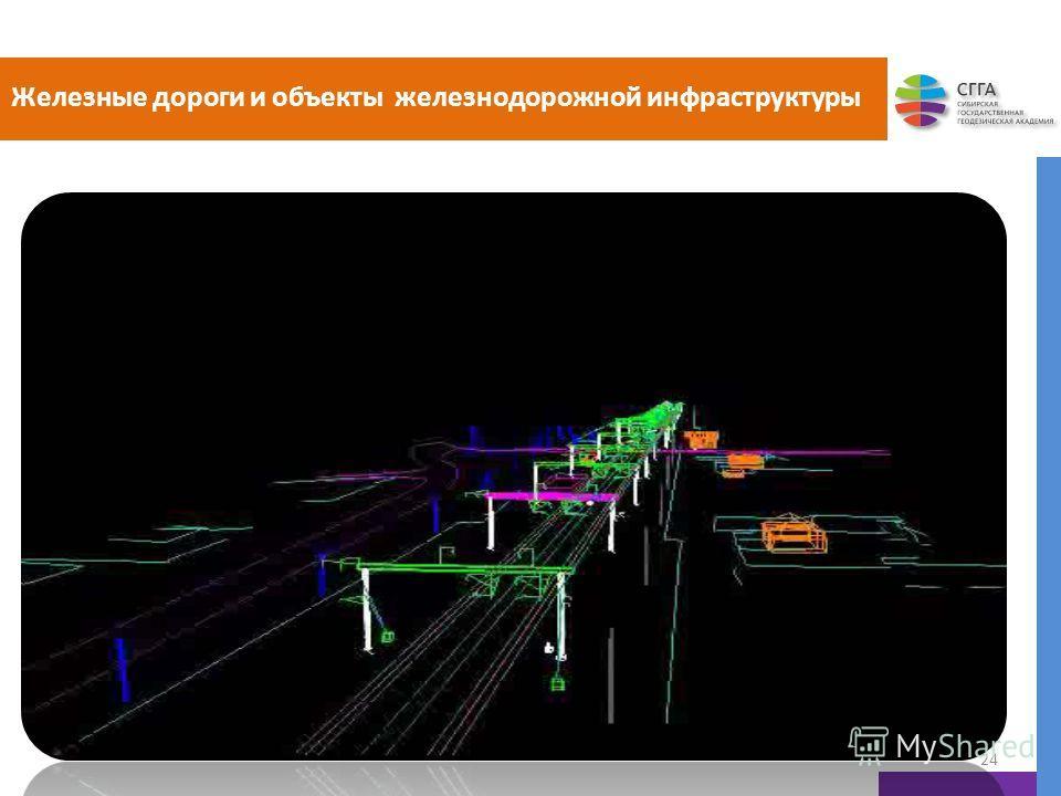 Железные дороги и объекты железнодорожной инфраструктуры 24