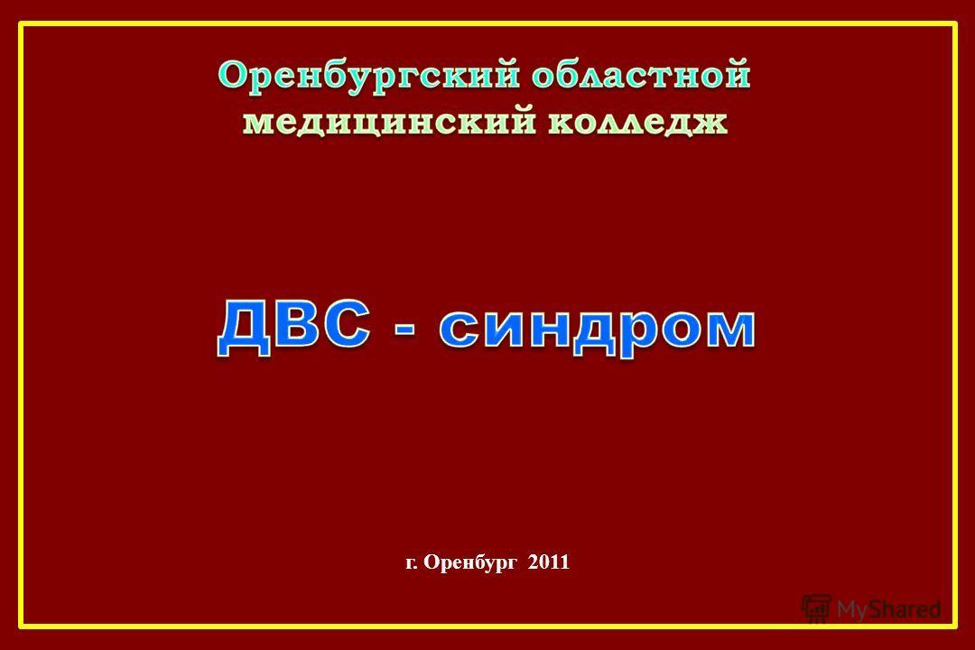 г. Оренбург 2011