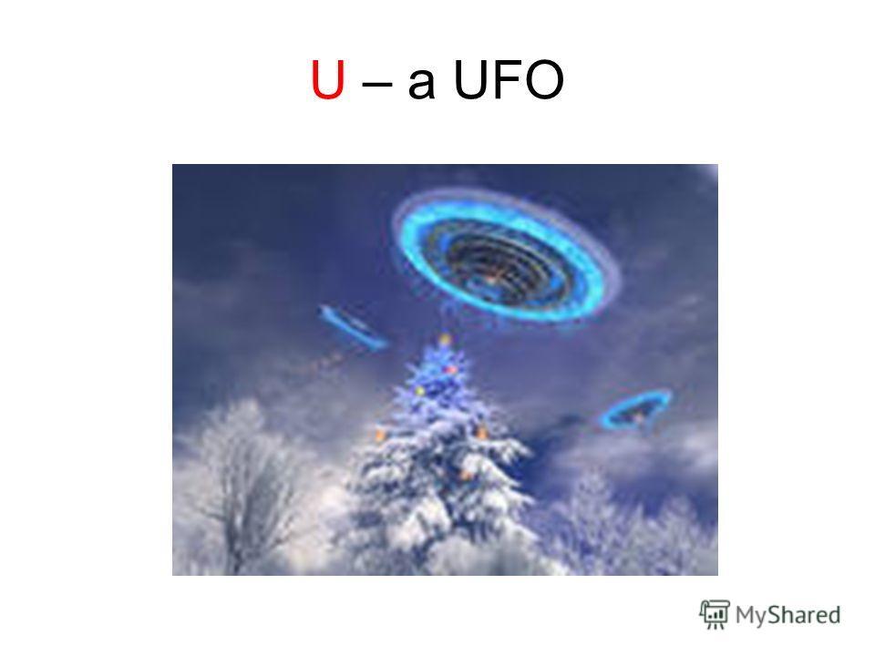 U – a UFO