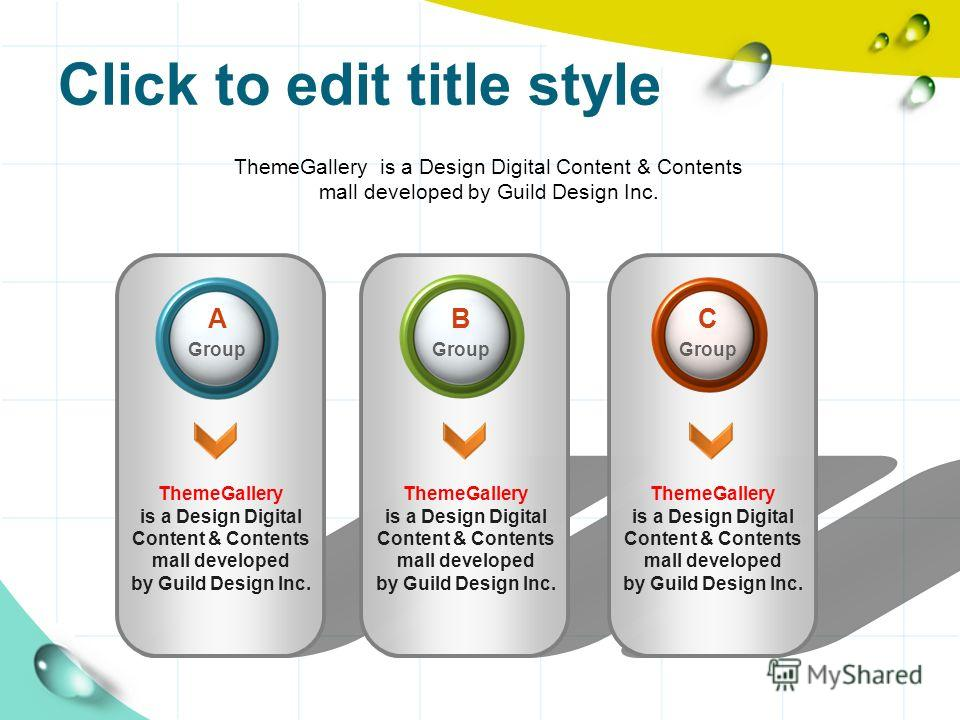 Click to edit title style ThemeGallery is a Design Digital Content & Contents mall developed by Guild Design Inc. ThemeGallery is a Design Digital Content & Contents mall developed by Guild Design Inc. ThemeGallery is a Design Digital Content & Conte