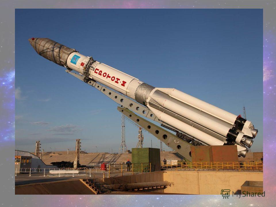 - Как называется летательный аппарат, в котором летят в космос?