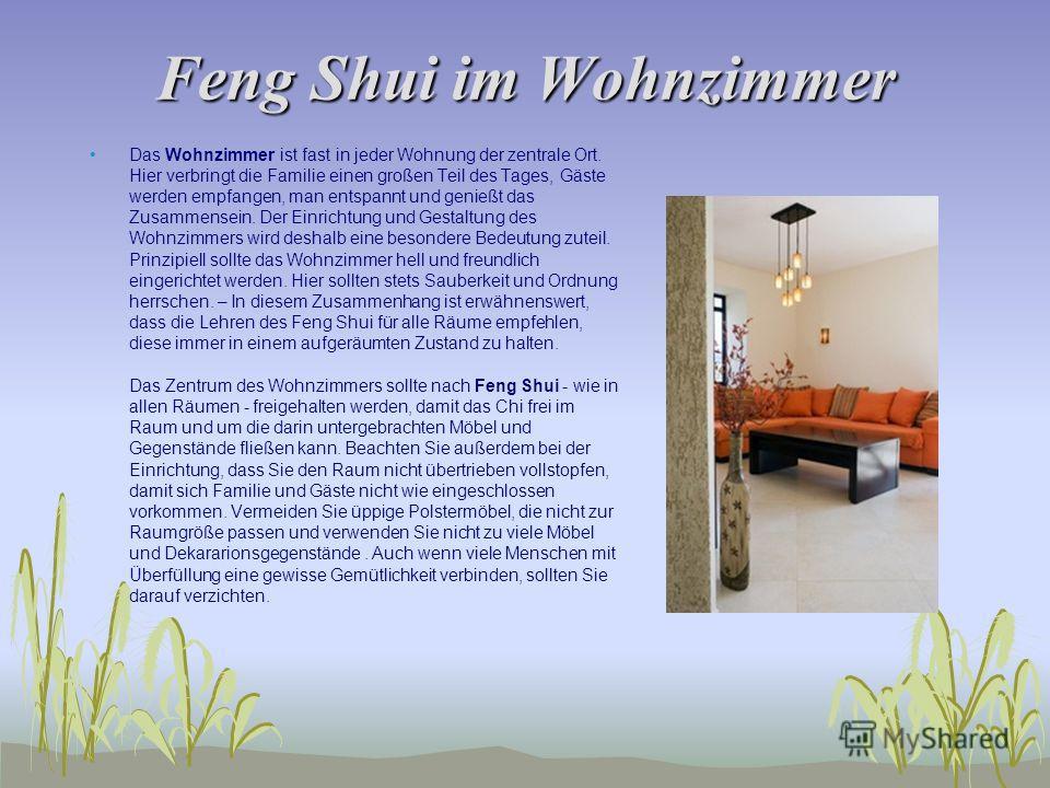 feng shui in der wohnung klasse 10 feng shui eine einf hrung n. Black Bedroom Furniture Sets. Home Design Ideas