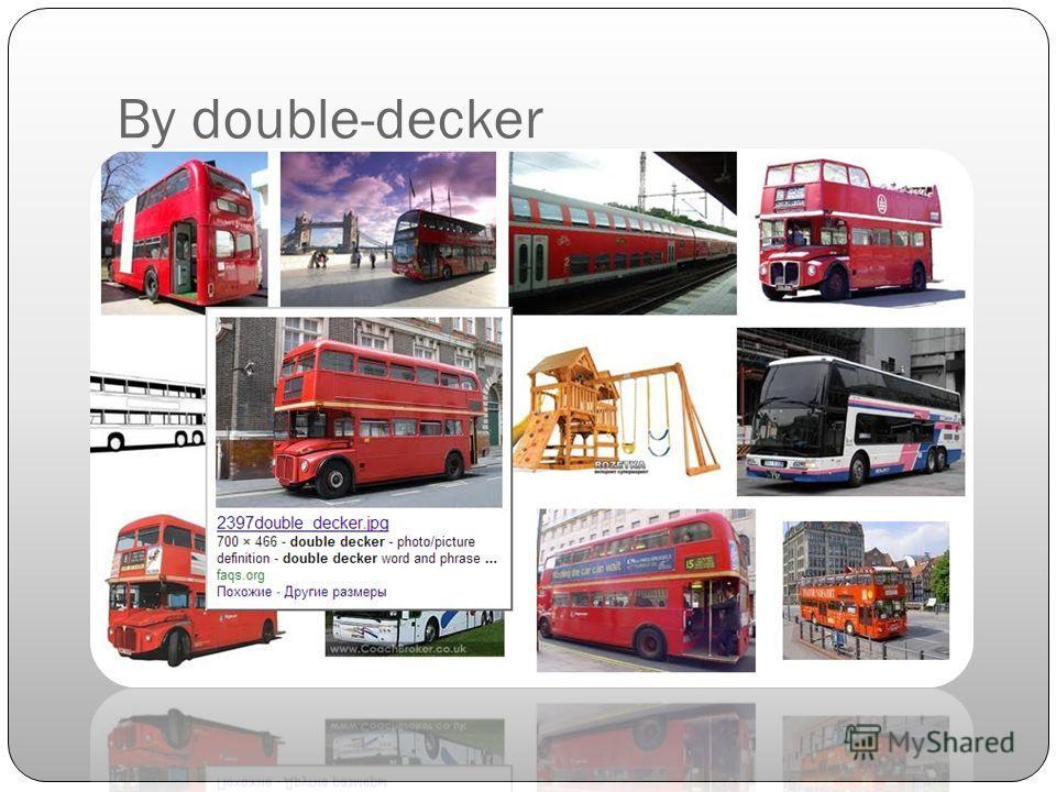 By double-decker