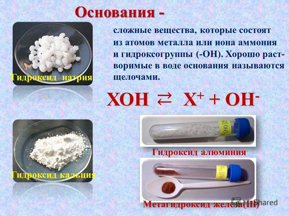 Основания Ефремова С.А. Учитель химии ГБОУ СОШ 661 Санкт-Петербург