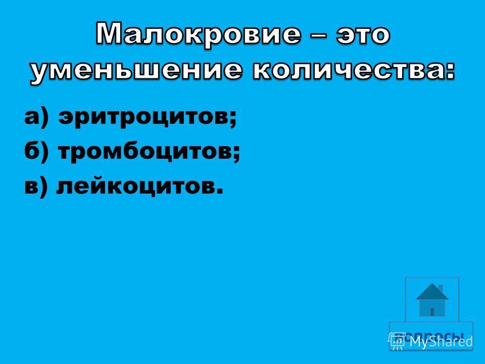а) красным костным мозгом; б) желтым костным мозгом; в) печенью и селезенкой.