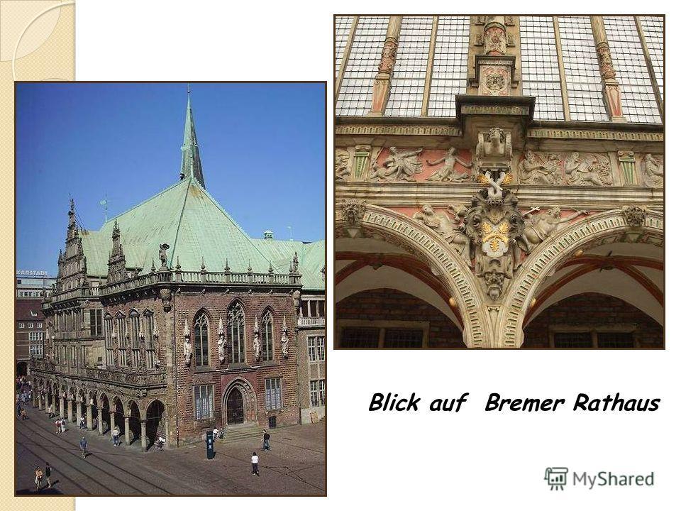 Blick auf Bremer Rathaus