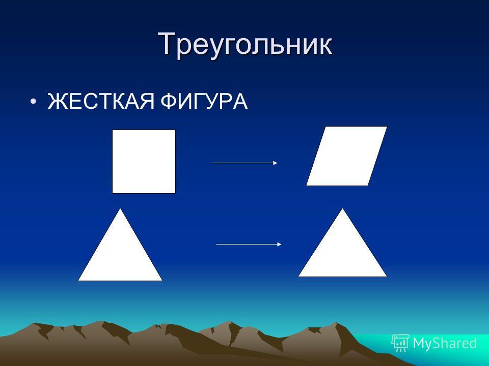 Треугольник ЖЕСТКАЯ ФИГУРА