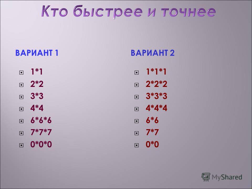 Давным-давно в Древней Греции, для того чтобы умножать числа, люди использовали счёт на камушках. Они рисовали многоугольники, выкладывали их стороны из камней и подсчитывали их число. В результате этого появились числа называемые квадратными и кубич