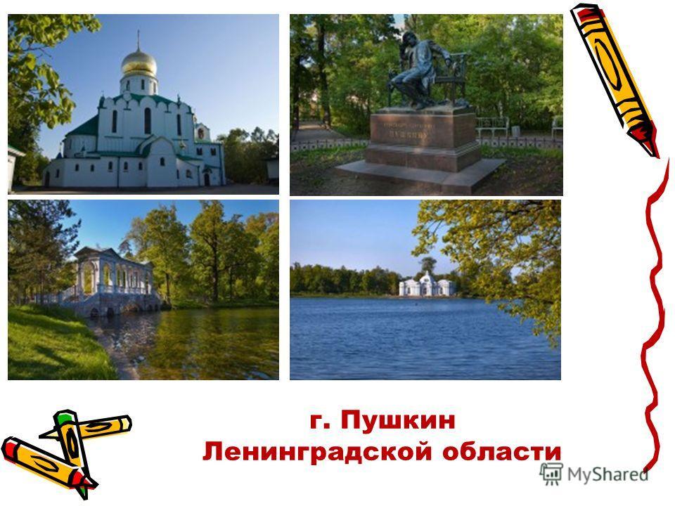 г. Пушкин Ленинградской области