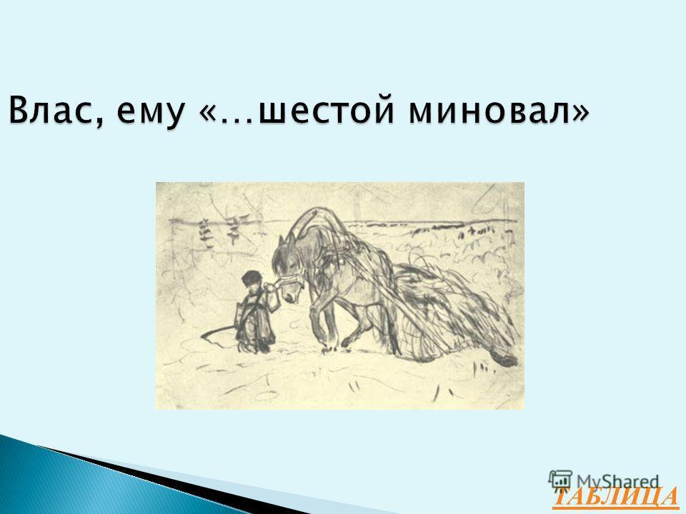 Н.А.Некрасов 100 Как зовут Мужичка с ноготок, героя одного из известных стихотворений поэта, и сколько ему лет?