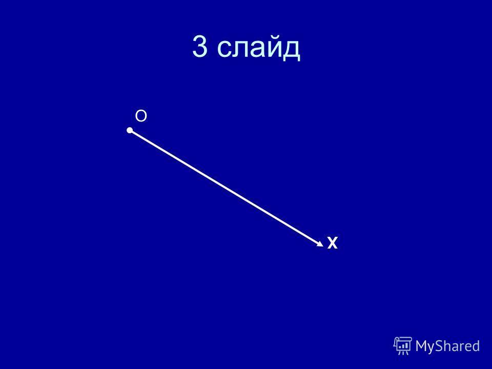 3 слайд О Х