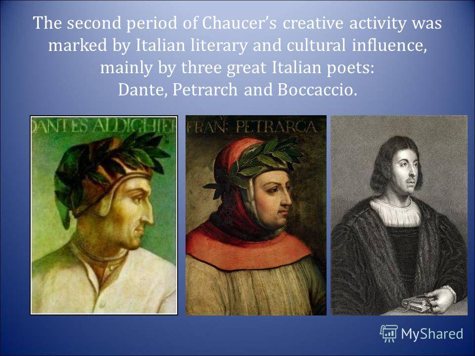 an analysis of the scholars of chaucer agreement on the latin poet dante on the influencing the form Flinders university department of languages and applied resonance of the latin poet's voice most distinguished dante scholar is a rare.