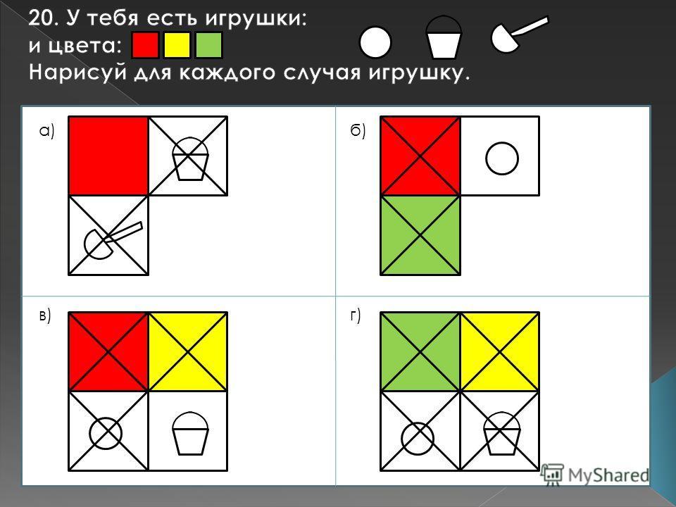а)б) в)г)