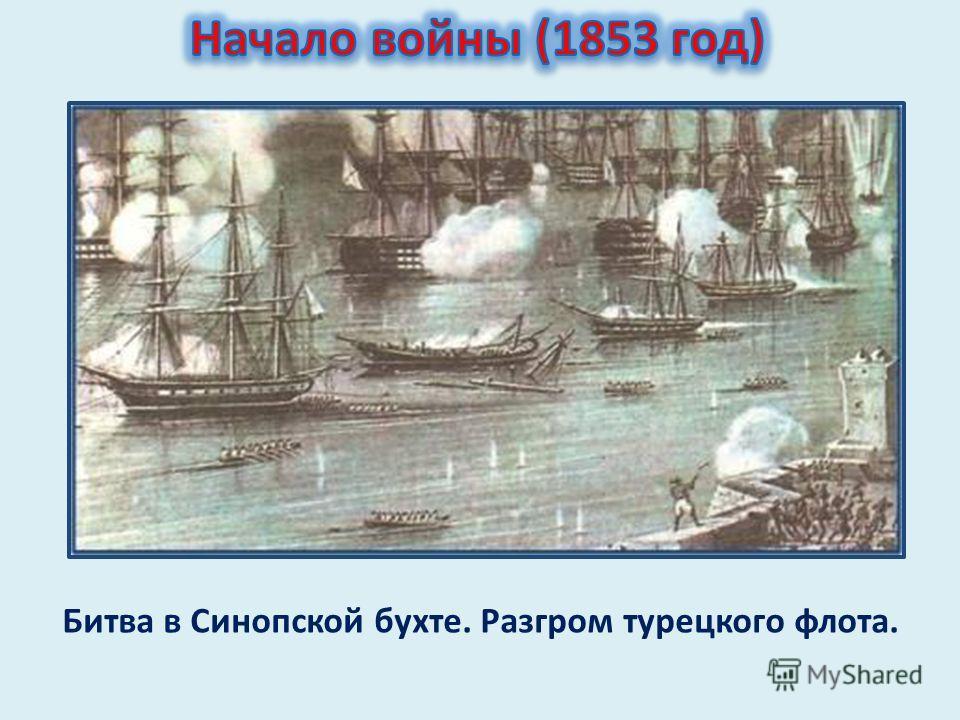 Битва в Синопской бухте. Разгром турецкого флота.