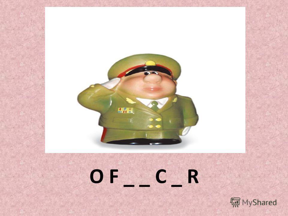 O F _ _ C _ R