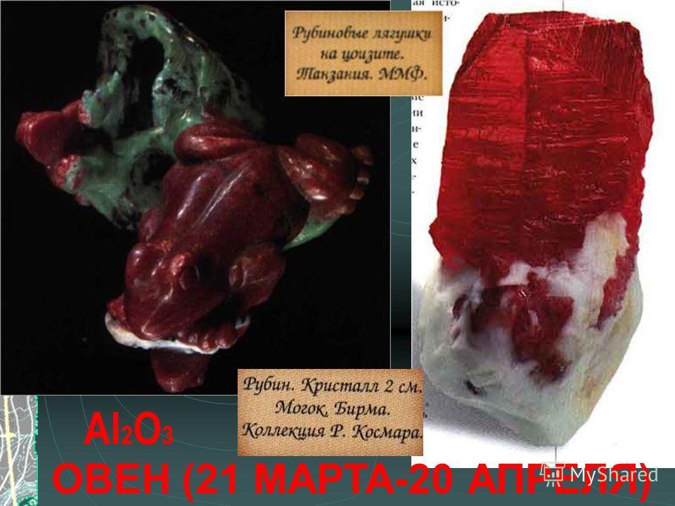ОВЕН (21 МАРТА-20 АПРЕЛЯ) Al 2 O 3