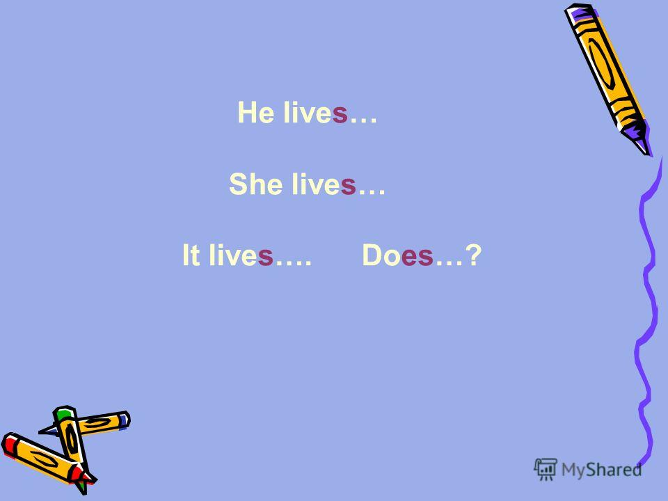 He lives… She lives… It lives…. Does…?