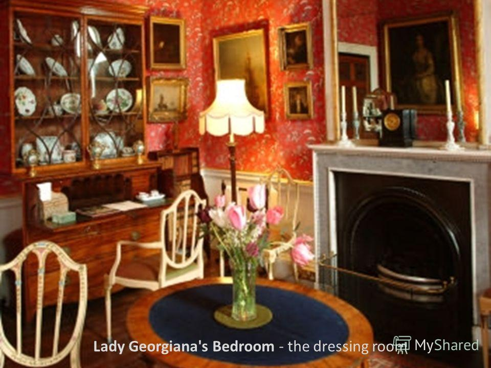 Lady Georgiana's Bedroom - the dressing room